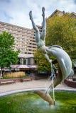 Springbrunn. London Arkivbilder