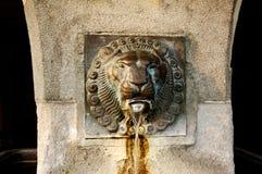 springbrunn luzern trevliga switzerland Royaltyfri Bild
