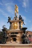 springbrunn neptune Royaltyfri Bild
