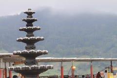 Springbrunn på berget royaltyfri fotografi