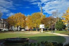 Springbrunn på Elisengarten Royaltyfri Foto