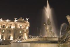 springbrunn rome Arkivbild