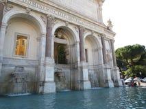 springbrunn rome Royaltyfri Bild