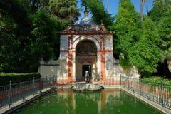 springbrunn seville royaltyfri foto