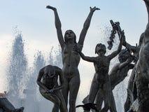 Springbrunn till Neptun Royaltyfri Foto
