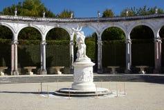 springbrunn trädgårds- versailles Royaltyfri Fotografi