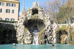 springbrunn vatican Royaltyfria Foton