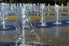 springbrunnar Royaltyfri Bild