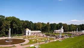 Springbrunnar av Royal Palace Fotografering för Bildbyråer