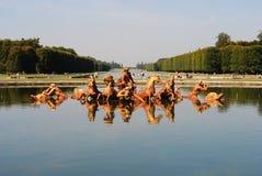 Springbrunnar av Versailles Arkivbilder