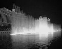 Springbrunnar på Belagio arkivbilder