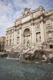 springbrunnar rome Arkivbild
