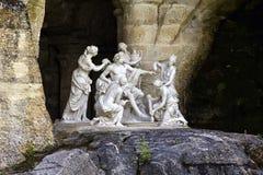 Springbrunnbad av Apollo, Versailles Royaltyfri Foto
