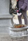 Springbrunnen av Karlovy varierar Fotografering för Bildbyråer
