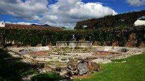 Springbrunnen fördärvar Arkivbilder
