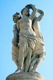 springbrunnen hedrar tre Royaltyfri Bild