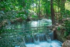 Springbrunnen, naturliga brunnar i Pak Chong är en turist- dragning Royaltyfri Fotografi
