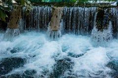 Springbrunnen, naturliga brunnar i Pak Chong är en turist- dragning Arkivbilder