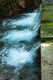 Springbrunnen, naturliga brunnar i Pak Chong är en turist- dragning Arkivbild