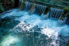 Springbrunnen, naturliga brunnar i Pak Chong är en turist- dragning Fotografering för Bildbyråer