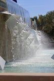 Springbrunnen på Hammond Stadium Arkivfoto