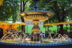 SpringbrunnGolden Gate Kiev Royaltyfria Bilder