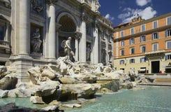 springbrunnitaly rome trevi Arkivbild