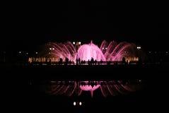 springbrunnnatt Royaltyfri Bild
