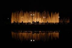 springbrunnnatt Fotografering för Bildbyråer