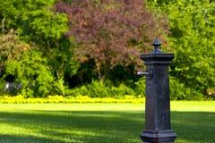 springbrunnpark Royaltyfri Foto