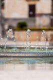Springbrunnrör i Makarska Royaltyfria Bilder