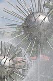 springbrunntrick arkivfoto