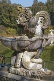 Springbrunnvattenkastare på de Boboli trädgårdarna i Florence, Italien Royaltyfria Foton