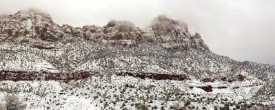 Springdale Utah Mountain Panorama Stock Photos