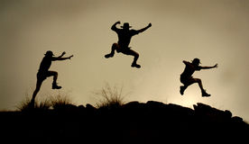 Springen Lizenzfreie Stockfotografie