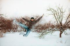 Springen. stockfoto
