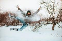 Springen. lizenzfreie stockbilder