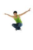 Springen Sie Stockfoto