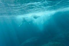 Springen Sie in das Meer Lizenzfreie Stockfotografie