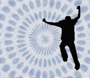 Springen Sie in die Turbulenz - mit Ausschnittspfad Stockbilder