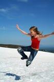 Springen Sie gen Himmel 2 Stockfotos