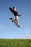 Springen Sie Mädchen Stockfotografie