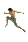 Springen Sie Mann Stockfoto