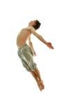 Springen Sie Mann Lizenzfreies Stockfoto