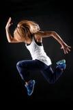 Springen Sie in Tanz. Stockfoto