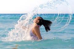 Springen Sie vom Meer heraus Lizenzfreies Stockbild