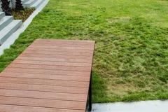 Springen Sie zum Gras Lizenzfreies Stockfoto