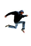 Springende jonge danser Royalty-vrije Stock Afbeelding