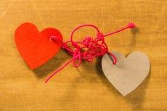Springende Liebe stock abbildung