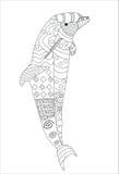Springender Delphin Zentagle-Art lokalisiert lizenzfreie abbildung